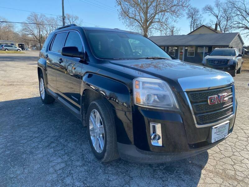 2012 GMC Terrain for sale at Rocket Cars Auto Sales LLC in Des Moines IA