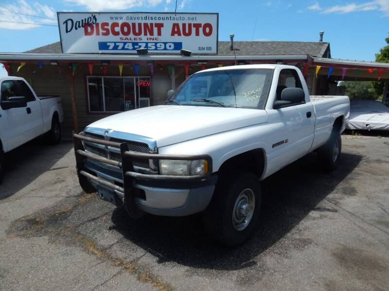 2000 Dodge Ram Pickup 2500 for sale at Dave's discount auto sales Inc in Clearfield UT