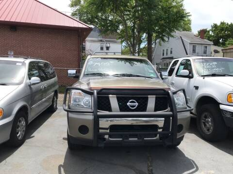 2007 Nissan Armada for sale at Chambers Auto Sales LLC in Trenton NJ