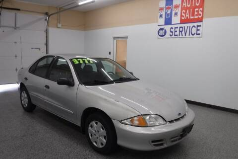 2002 Chevrolet Cavalier for sale at 777 Auto Sales and Service in Tacoma WA