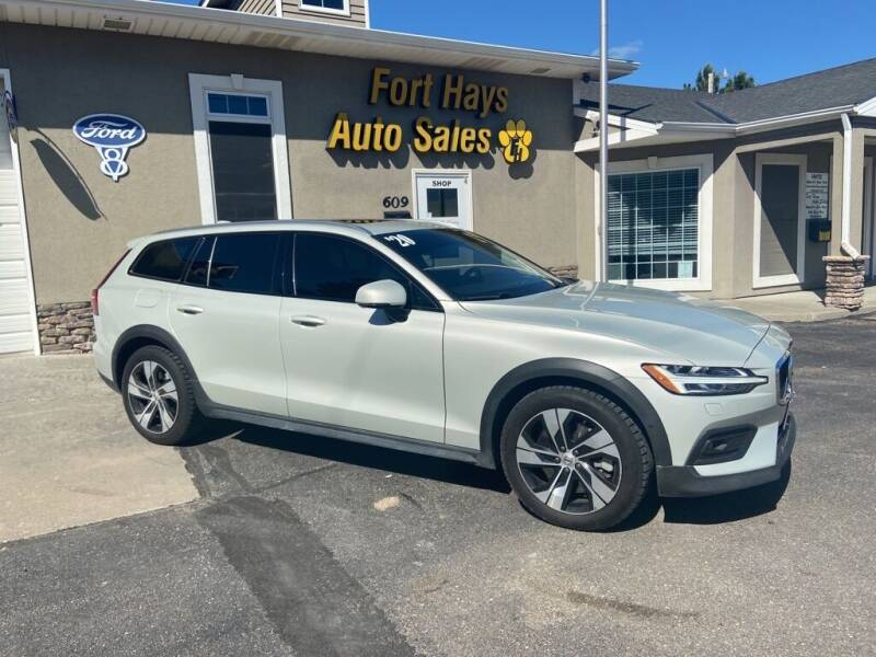 2020 Volvo V60 Cross Country for sale at Fort Hays Auto Sales in Hays KS