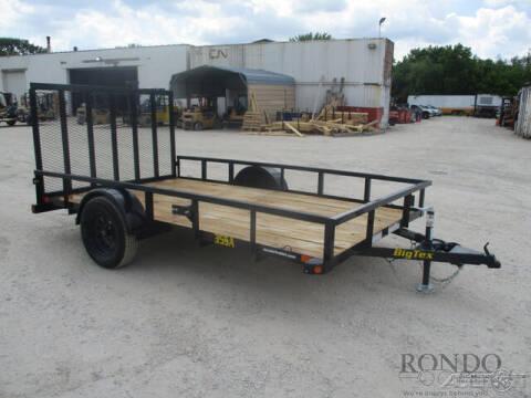 2021 Big Tex Single Axle Utility 35SA-12XBK