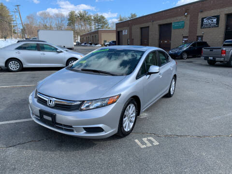 2012 Honda Civic for sale at Ric's Auto Sales in Billerica MA