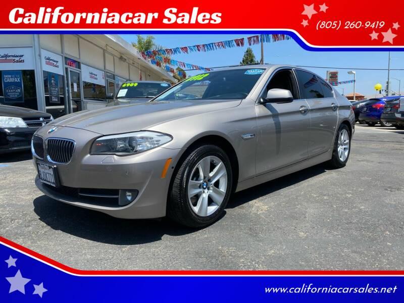 2012 BMW 5 Series for sale at Californiacar Sales in Santa Maria CA