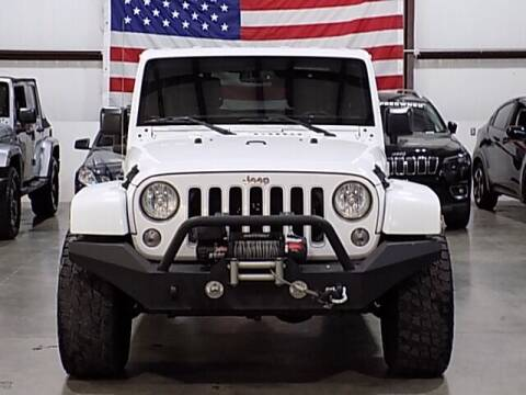 2016 Jeep Wrangler Unlimited for sale at Texas Motor Sport in Houston TX