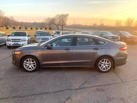 2013 Ford Fusion for sale at Iowa Auto Sales, Inc in Sioux City IA