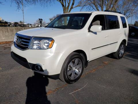 2012 Honda Pilot for sale at Matador Motors in Sacramento CA