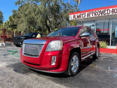2013 GMC Terrain for sale at Always Approved Autos in Tampa FL