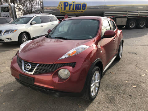 2012 Nissan JUKE for sale at Barga Motors in Tewksbury MA