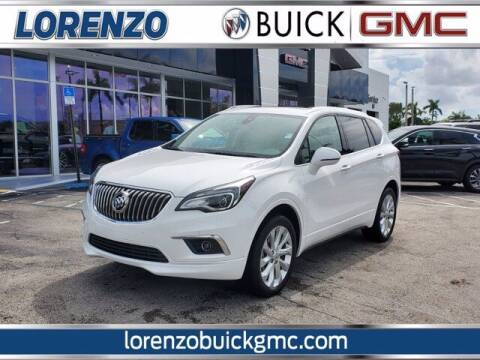 2018 Buick Envision for sale at Lorenzo Buick GMC in Miami FL