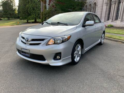 2013 Toyota Corolla for sale at First Union Auto in Seattle WA