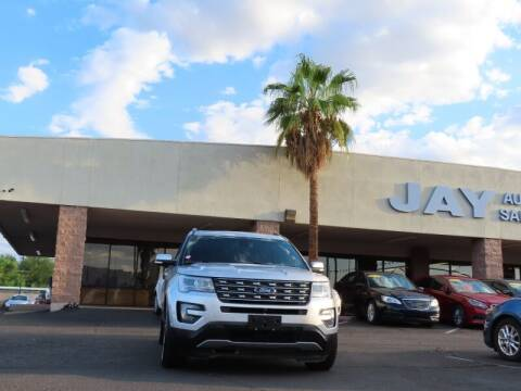 2016 Ford Explorer for sale at Jay Auto Sales in Tucson AZ