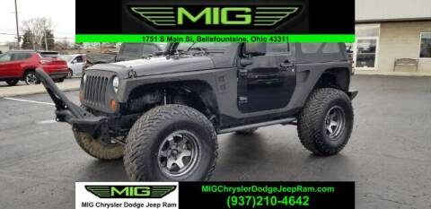 2011 Jeep Wrangler for sale at MIG Chrysler Dodge Jeep Ram in Bellefontaine OH