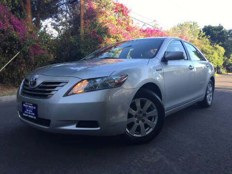 2007 Toyota Camry Hybrid for sale at Valley Coach Co Sales & Lsng in Van Nuys CA