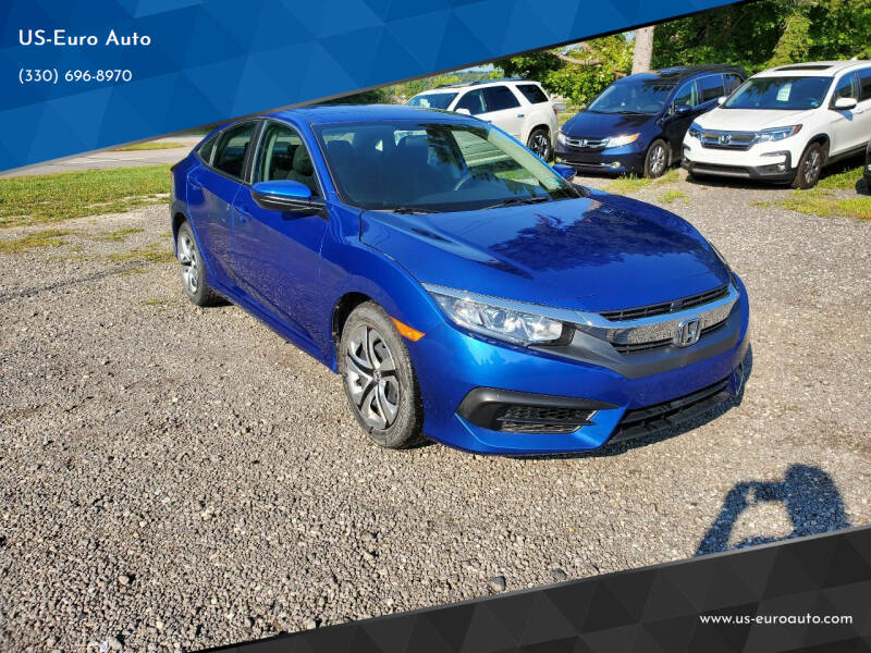 2018 Honda Civic for sale at US-Euro Auto in Burton OH