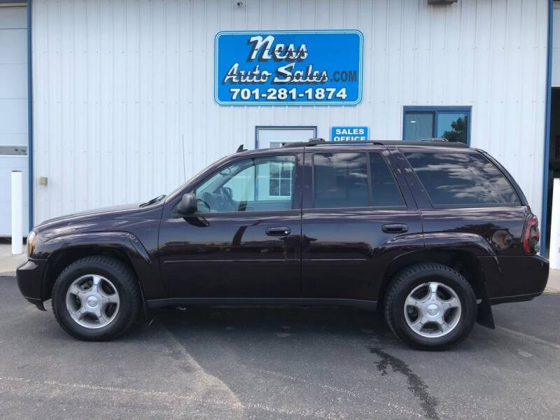 2008 Chevrolet TrailBlazer for sale at NESS AUTO SALES in West Fargo ND