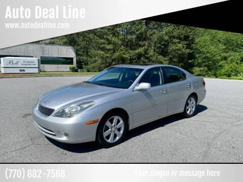 2005 Lexus ES 330 for sale at Auto Deal Line in Alpharetta GA