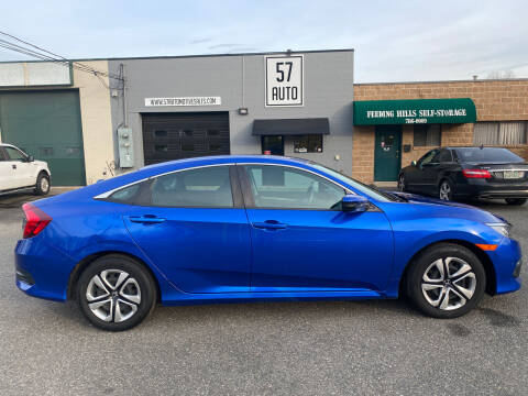 2017 Honda Civic for sale at 57 AUTO in Feeding Hills MA