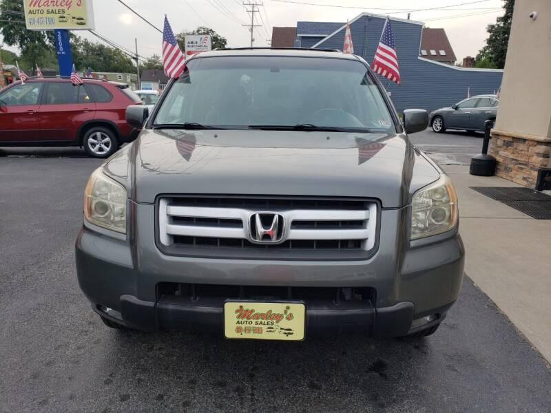 2008 Honda Pilot for sale at Marley's Auto Sales in Pasadena MD
