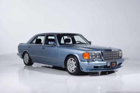 1985 Mercedes-Benz 500-Class for sale at Motorcar Classics in Farmingdale NY
