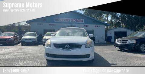 2009 Nissan Altima for sale at Supreme Motors in Tavares FL