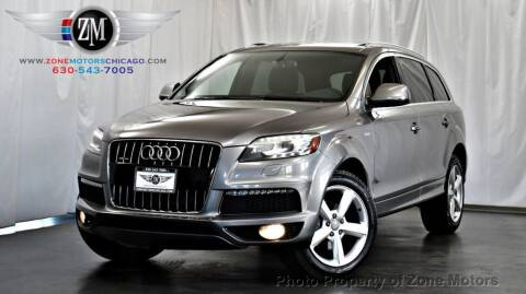 2012 Audi Q7 for sale at ZONE MOTORS in Addison IL