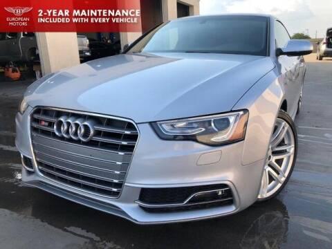 2015 Audi S5 for sale at European Motors Inc in Plano TX