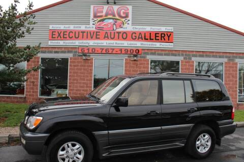 2000 Lexus LX 470 for sale at EXECUTIVE AUTO GALLERY INC in Walnutport PA