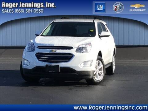 2017 Chevrolet Equinox for sale at ROGER JENNINGS INC in Hillsboro IL