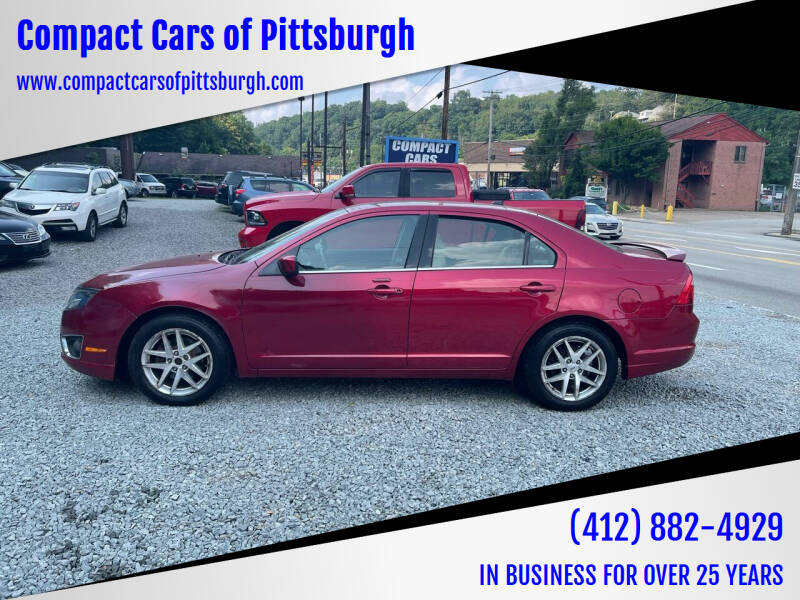2011 Ford Fusion for sale at Compact Cars of Pittsburgh in Pittsburgh PA