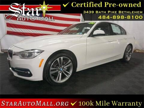2018 BMW 3 Series for sale at STAR AUTO MALL 512 in Bethlehem PA
