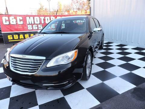 2012 Chrysler 200 for sale at C & C Motor Co. in Knoxville TN