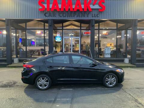 2018 Hyundai Elantra for sale at Siamak's Car Company llc in Salem OR