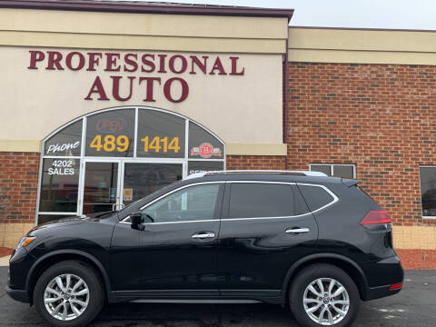 2019 Nissan Rogue for sale at Professional Auto Sales & Service in Fort Wayne IN