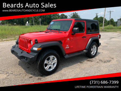 2019 Jeep Wrangler for sale at Beards Auto Sales in Milan TN