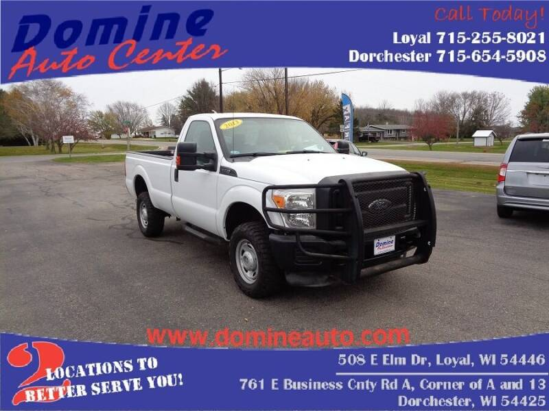 2013 Ford F-350 Super Duty for sale at Domine Auto Center - commercial vehicles in Loyal WI