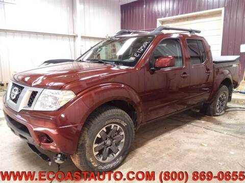 2016 Nissan Frontier for sale at East Coast Auto Source Inc. in Bedford VA