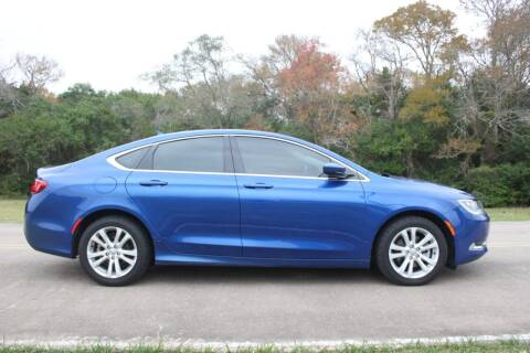 2017 Chrysler 200 for sale at Clear Lake Auto World in League City TX