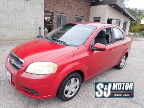 2009 Chevrolet Aveo for sale at S & J Motor Co Inc. in Merrimack NH