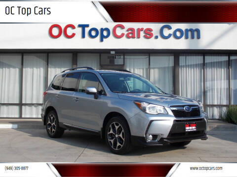 2015 Subaru Forester for sale at OC Top Cars in Irvine CA
