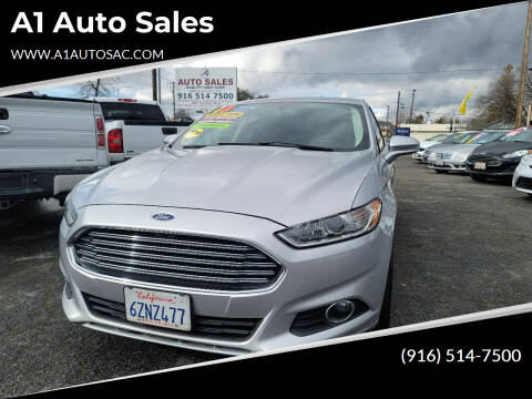2013 Ford Fusion for sale at A1 Auto Sales in Sacramento CA