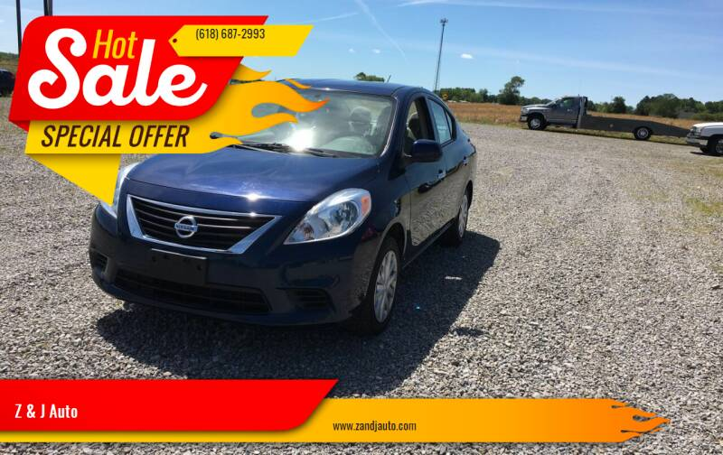 2014 Nissan Versa for sale at Z & J Auto in Murphysboro IL