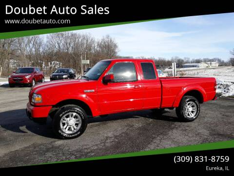2007 Ford Ranger for sale at Doubet Auto Sales in Eureka IL