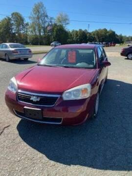 2007 Chevrolet Malibu Maxx for sale at Lighthouse Truck and Auto LLC in Dillwyn VA