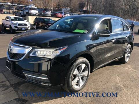 2014 Acura MDX for sale at J & M Automotive in Naugatuck CT
