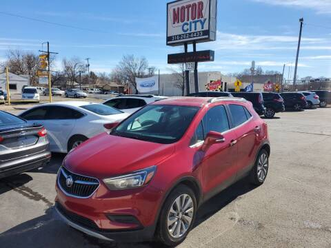 2017 Buick Encore for sale at Motor City Sales in Wichita KS
