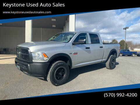 2012 RAM Ram Pickup 2500 for sale at Keystone Used Auto Sales in Brodheadsville PA
