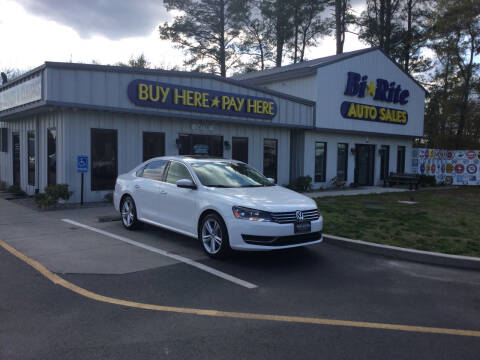 2014 Volkswagen Passat for sale at Bi Rite Auto Sales in Seaford DE