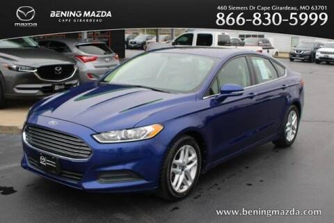 2013 Ford Fusion for sale at Bening Mazda in Cape Girardeau MO