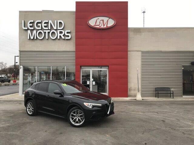 2018 Alfa Romeo Stelvio for sale at Legend Motors of Detroit - Legend Motors of Ferndale in Ferndale MI